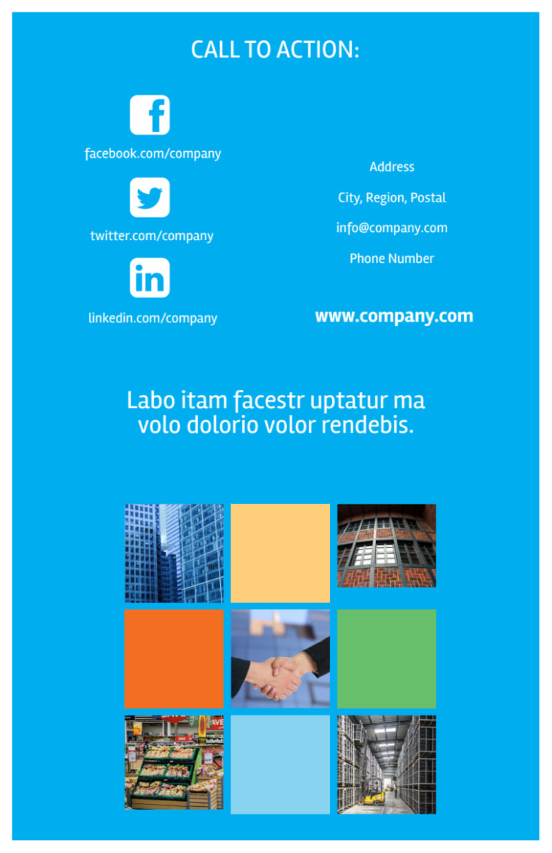 Commercial Real Estate Property Flyer Template Preview 3