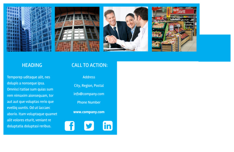 Commercial Real Estate Property Postcard Template Preview 3