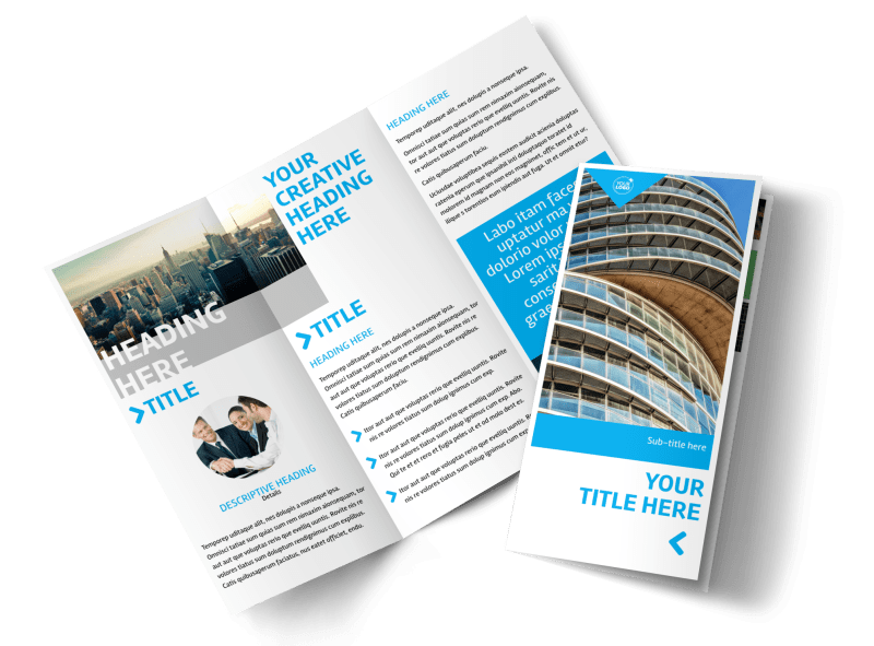 Commercial Real Estate Property Brochure Template Preview 1