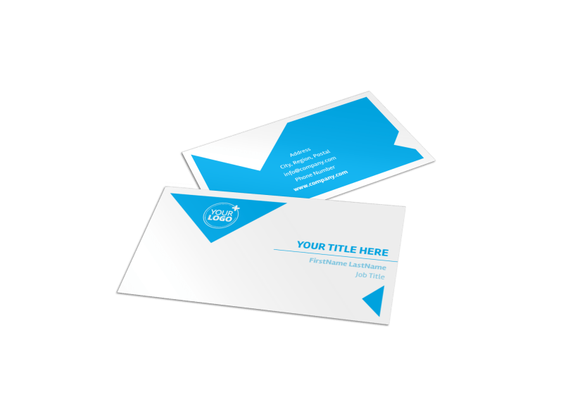 Commercial Real Estate Property Business Card Template Preview 1
