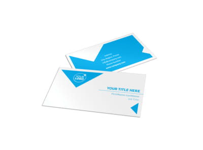 Commercial Real Estate Property Business Card Template preview