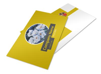 Art & Design Institute Postcard Template 2 preview