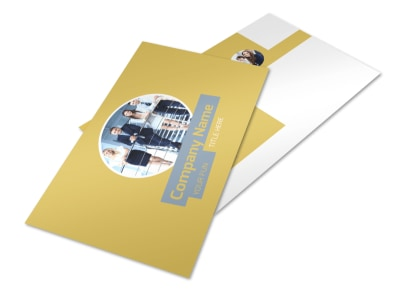 Top PR Firm Postcard Template 2 preview