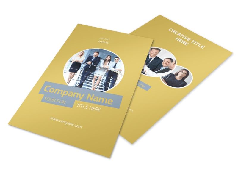 Top PR Firm Flyer Template 3