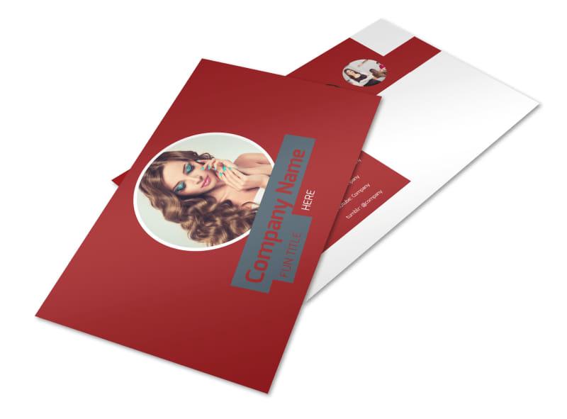 Beauty & Nail Spa Postcard Template Preview 4
