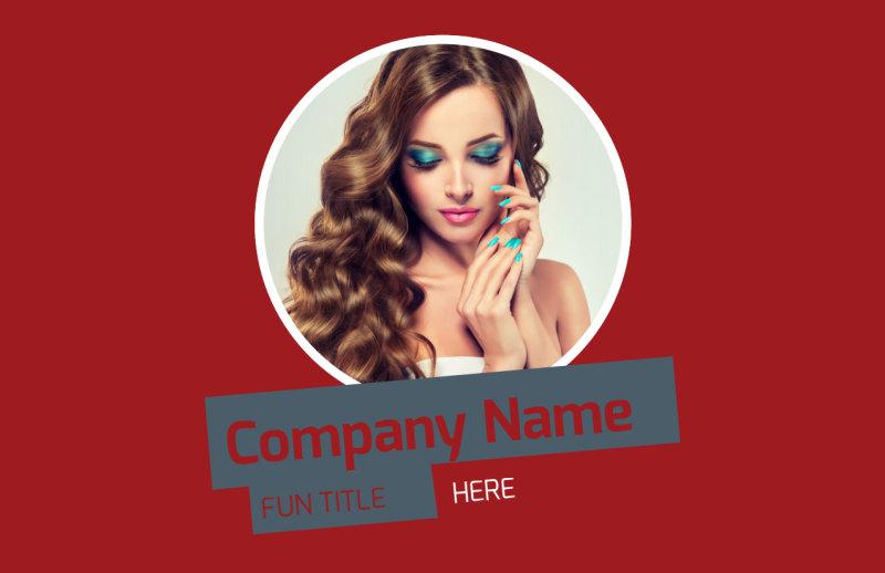 Beauty & Nail Spa Postcard Template Preview 2