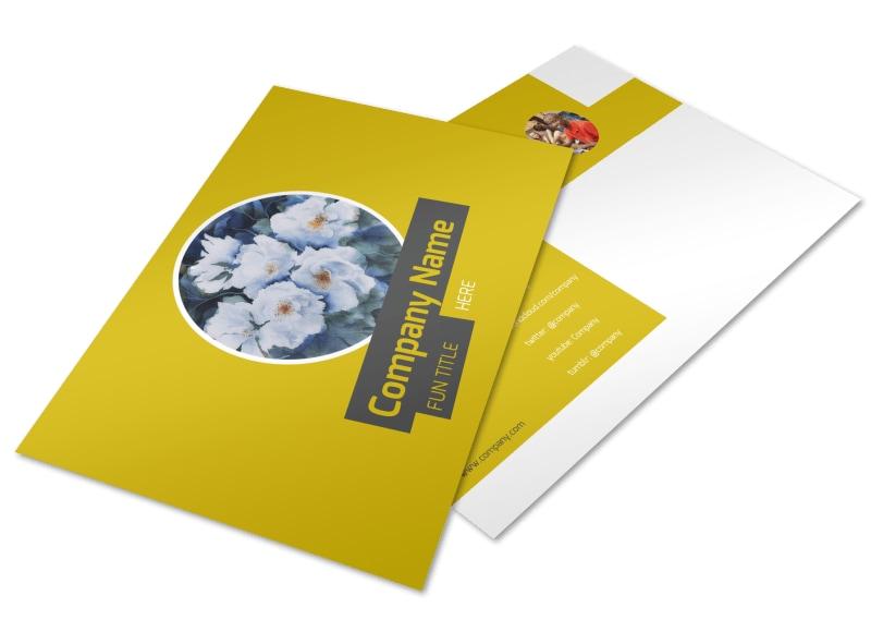 Art & Design Institute Postcard Template Preview 4