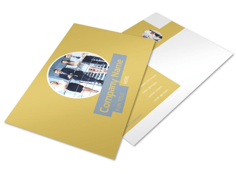 Top PR Firm Postcard Template