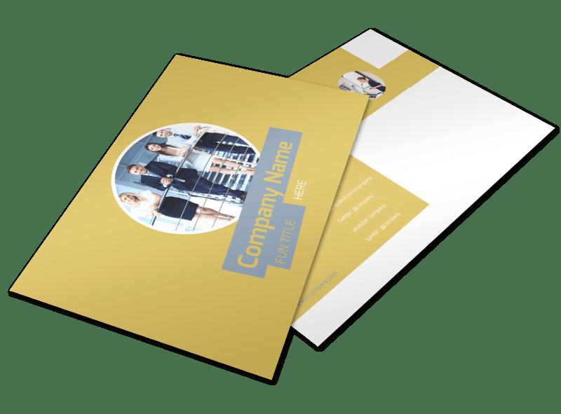 Top PR Firm Postcard Template Preview 1