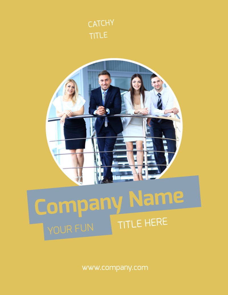 Top PR Firm Flyer Template Preview 2