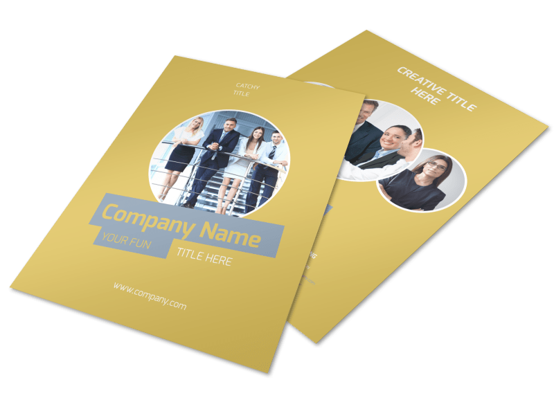 Top PR Firm Flyer Template Preview 1