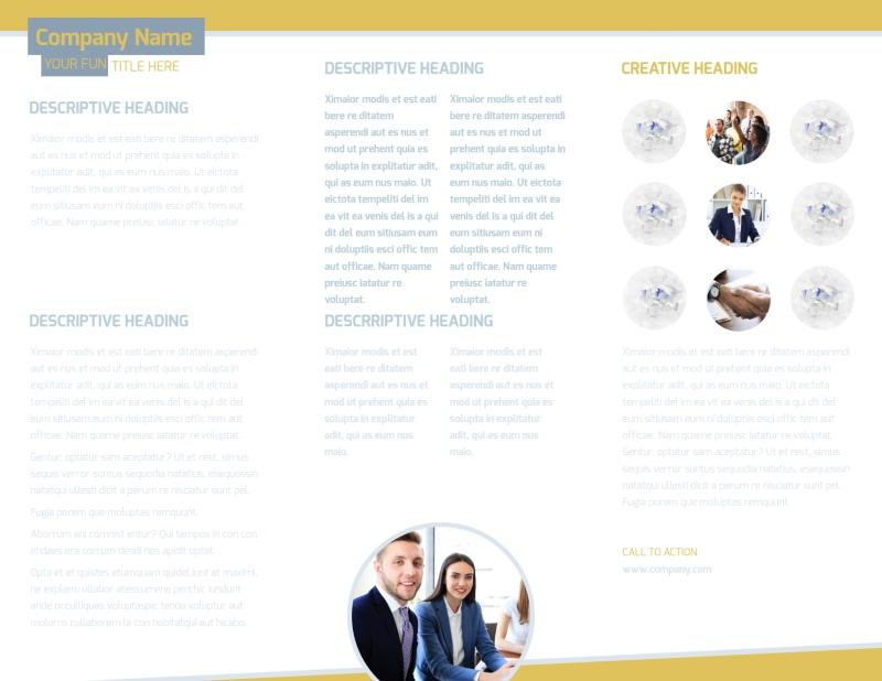 Top PR Firm Brochure Template Preview 3