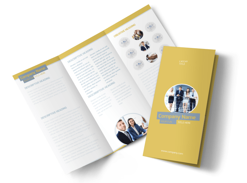 Top PR Firm Brochure Template Preview 1