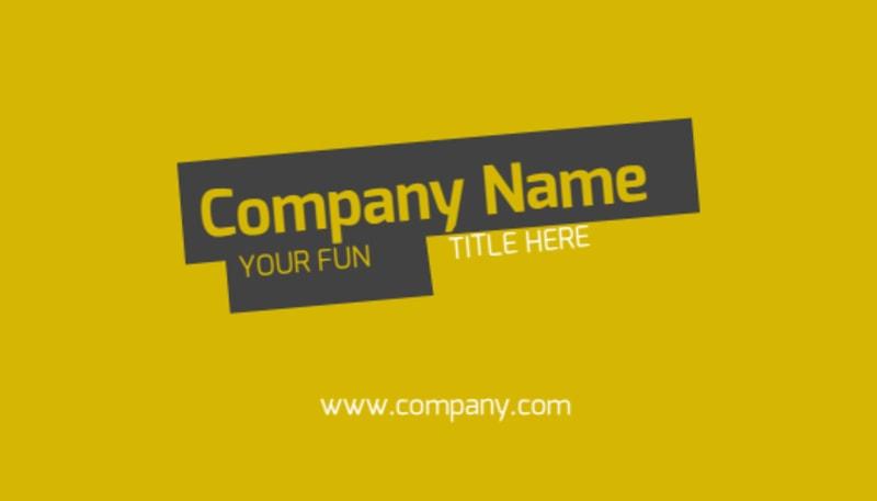 Art & Design Institute Business Card Template Preview 2