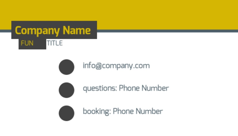 Art & Design Institute Business Card Template Preview 3