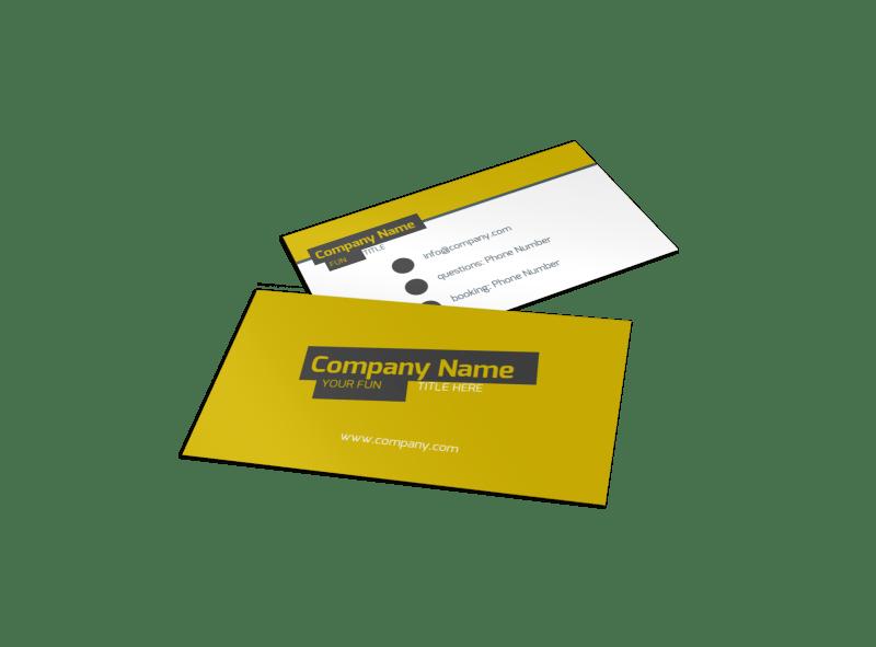 Art & Design Institute Business Card Template Preview 1