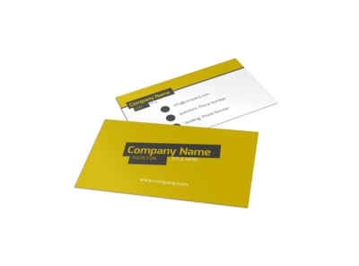 Art & Design Institute Business Card Template preview