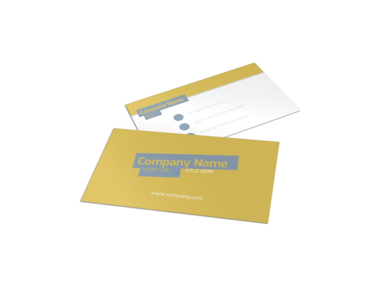 Top PR Firm Business Card Template Preview 4