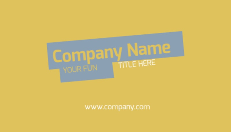 Top PR Firm Business Card Template Preview 2