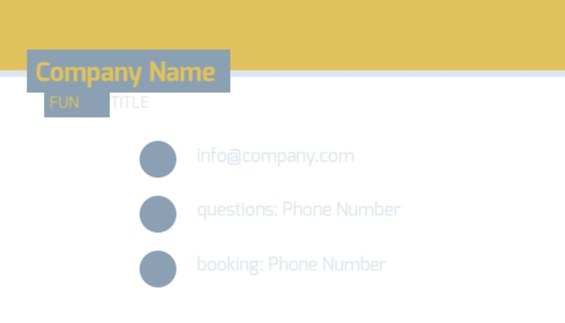 Top PR Firm Business Card Template Preview 3