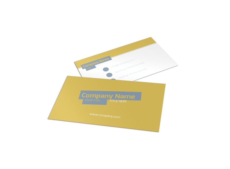 Top PR Firm Business Card Template Preview 1