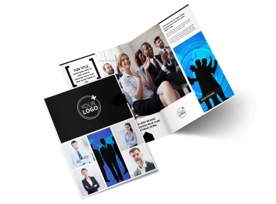 General Business Event Bi-Fold Brochure Template 2
