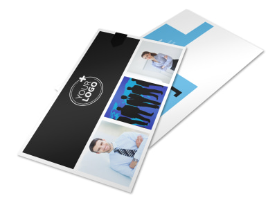 General Business Event Postcard Template 2 preview