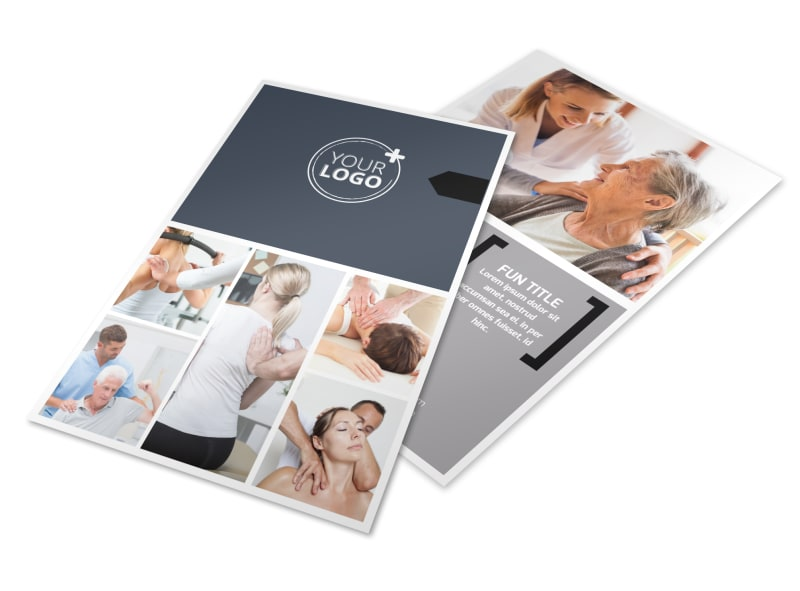 Physical Therapist Flyer Template 3