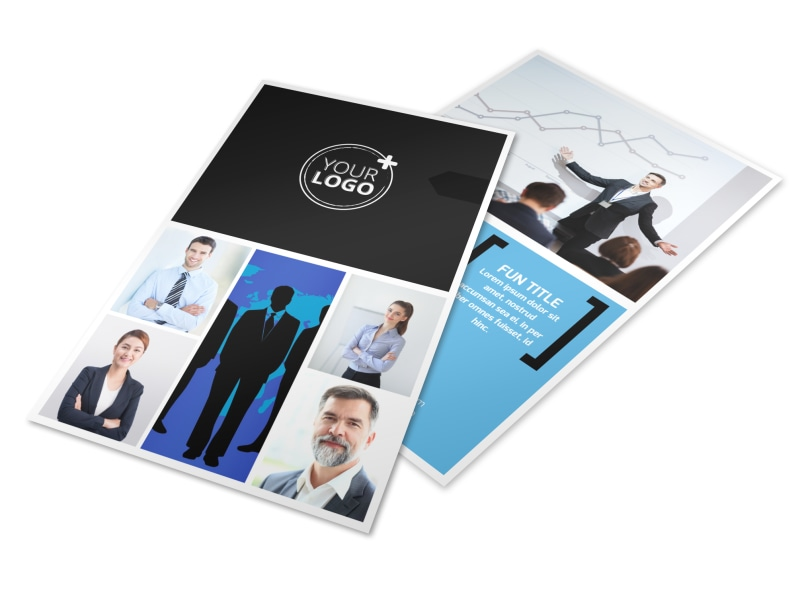 General Business Event Flyer Template 3