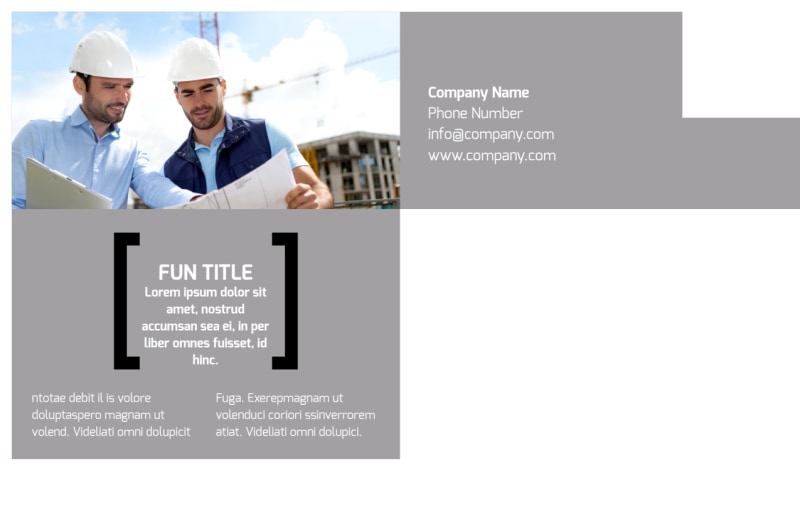 Top Engineering Consultants Postcard Template Preview 3