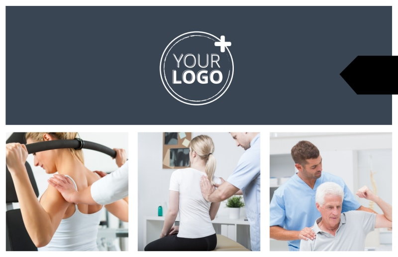 Physical Therapy Postcard Template Preview 2