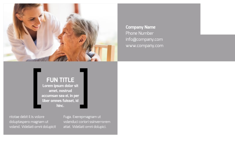 Physical Therapy Postcard Template Preview 3