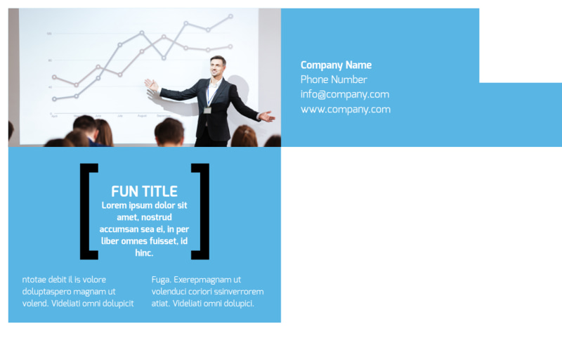 General Business Event Postcard Template Preview 3