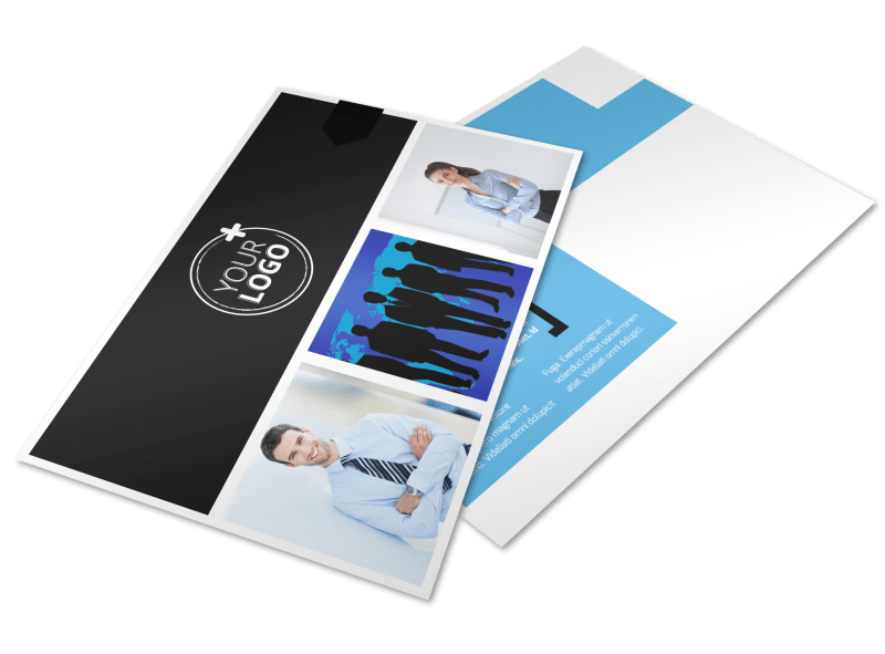 General Business Event Postcard Template Preview 1