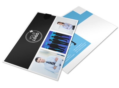 General Business Event Postcard Template