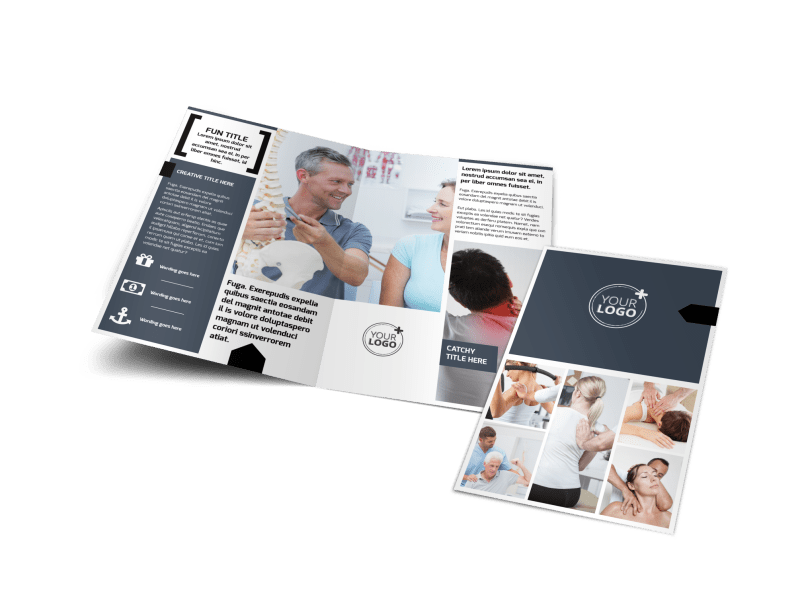 Physical Therapy Brochure Template Preview 1