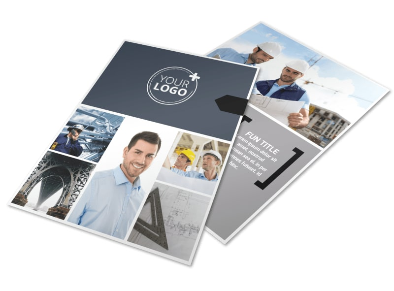 Top Engineering Consultants Flyer Template Preview 4
