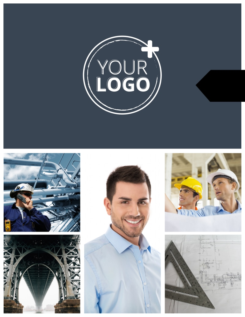 Top Engineering Consultants Flyer Template Preview 2