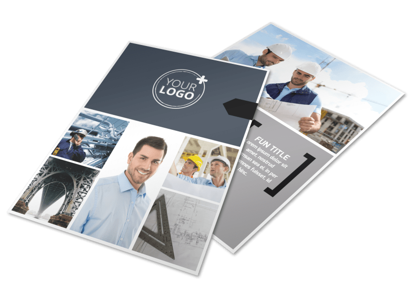 Top Engineering Consultants Flyer Template Preview 1