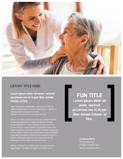 Physical Therapy Flyer Template Preview 2