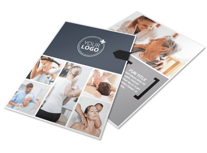 Physical Therapy Flyer Template Preview 1