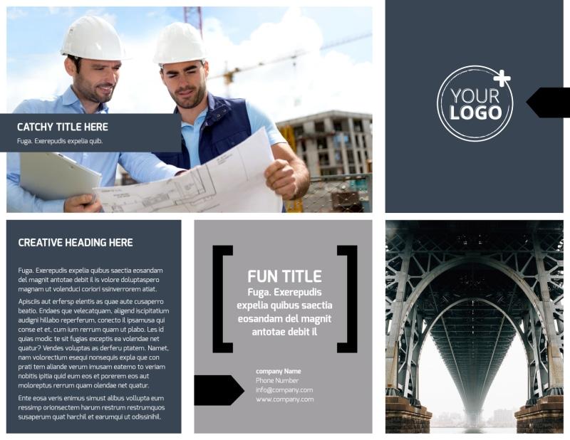 Top Engineering Consultants Brochure Template Preview 2