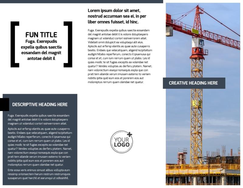 Top Engineering Consultants Brochure Template Preview 3