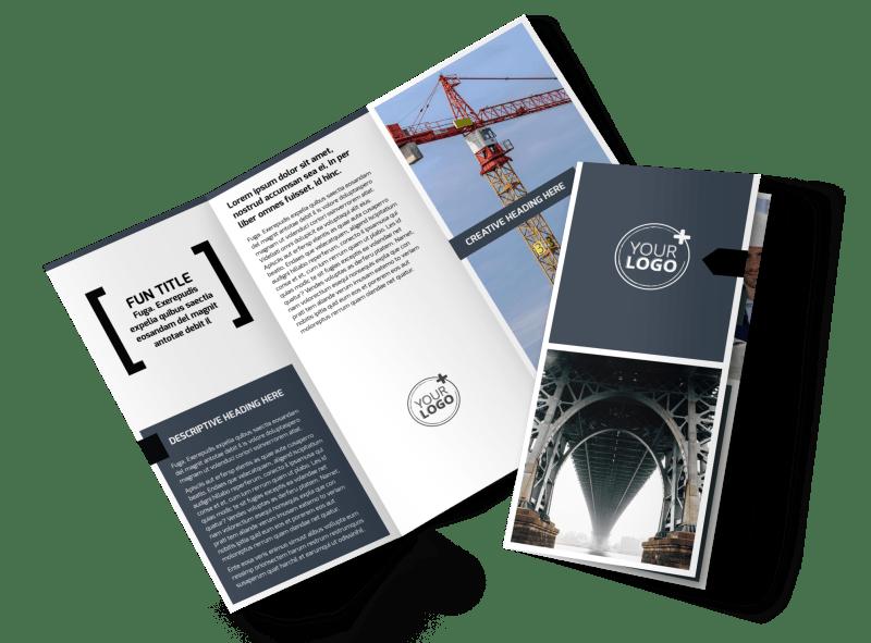 Top Engineering Consultants Brochure Template Preview 1
