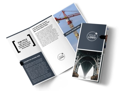 Top Engineering Consultants Tri-Fold Brochure Template