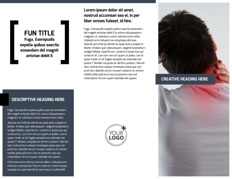 Physical Therapy Brochure Template Preview 3