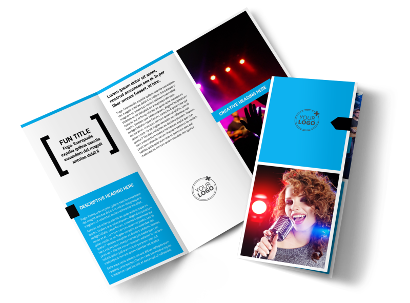 Music Band Info Brochure Template Preview 1