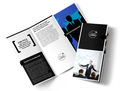 General Business Event Tri-Fold Brochure Template