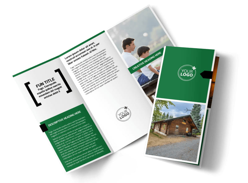 Fishing Lodge Brochure Template Preview 4