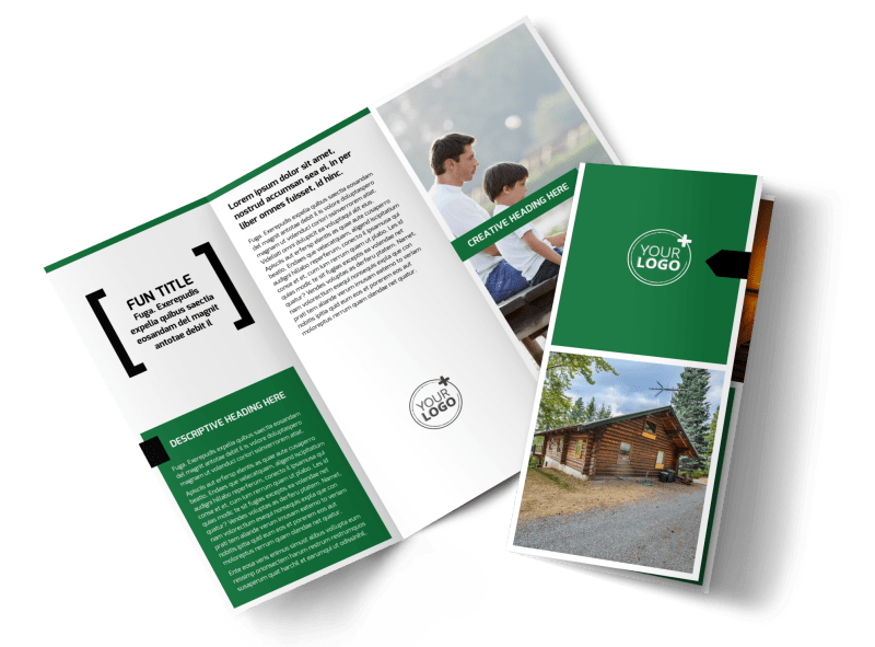 Fishing Lodge Brochure Template Preview 1